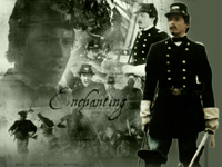 Featuring Matthew Broderick as Colonel Robert Gould Shaw in the 1989 Civil War movie Glory